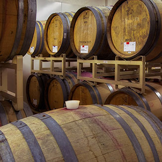 Kriselle Cellars barrels